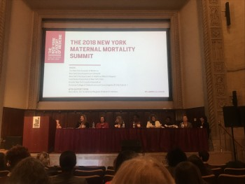 Highlights from the 2018 Maternal Mortality Summit hosted by New York Academy of Medicine on February 14, 2018